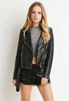 Forever 21 Faux Leather Moto Jacket $25  http://www.forever21.com/shop/ca/en/p/faux-leather-moto-jacket-2000154586--1001